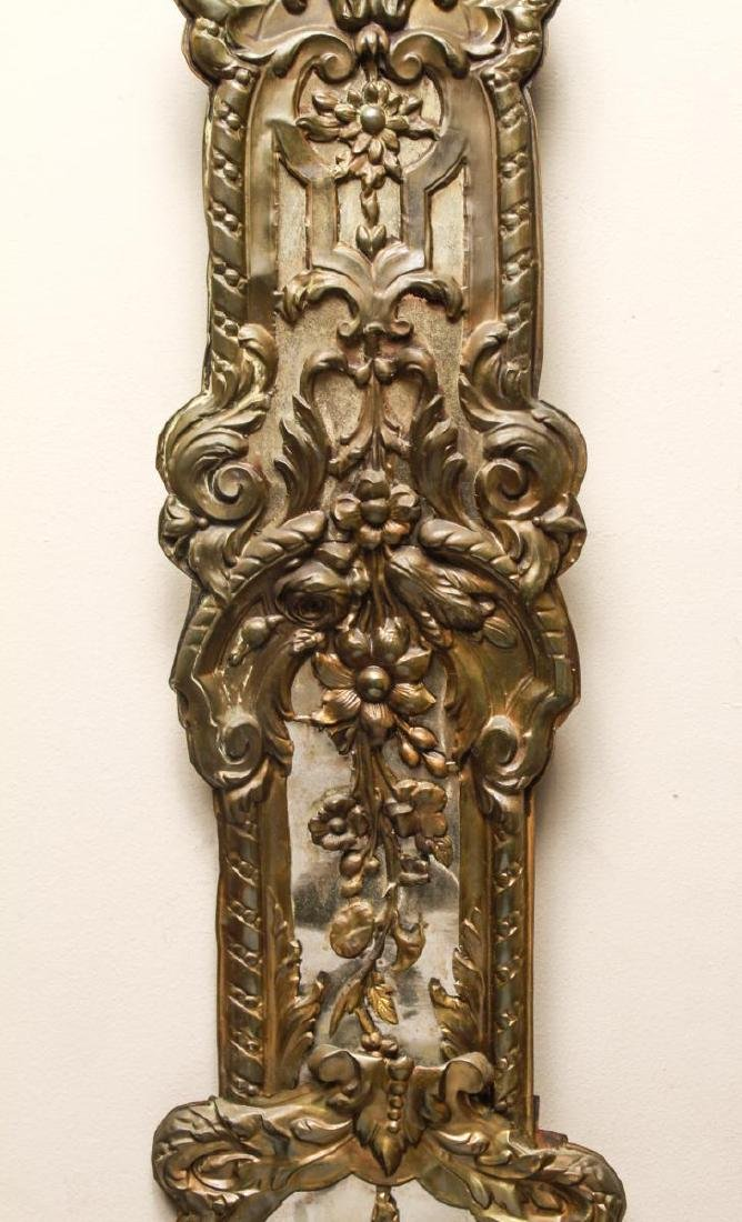 French Brass Morbier Wag on the Wall Clock 19th C. - 4