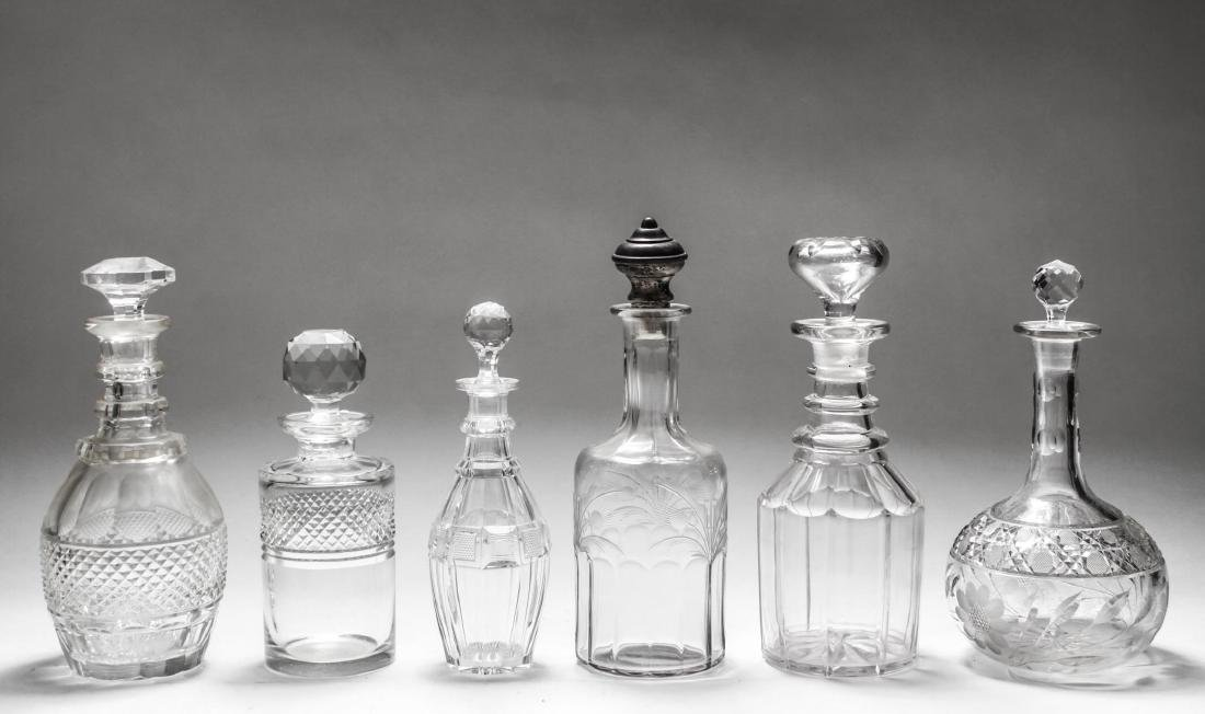 Waterford Manner & Other Crystal Glass Decanters 6