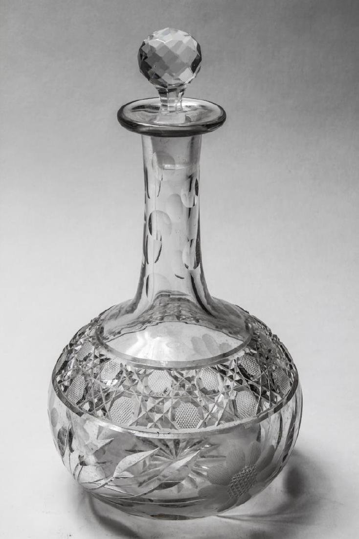 Waterford Manner & Other Crystal Glass Decanters 6 - 8