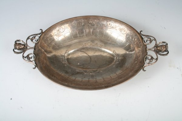 503: Sterling Silver Neoclassical Footed Dish