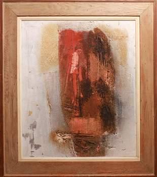 """Enrico Donati Hailstone Series """"Head"""" Oil / Canvas"""