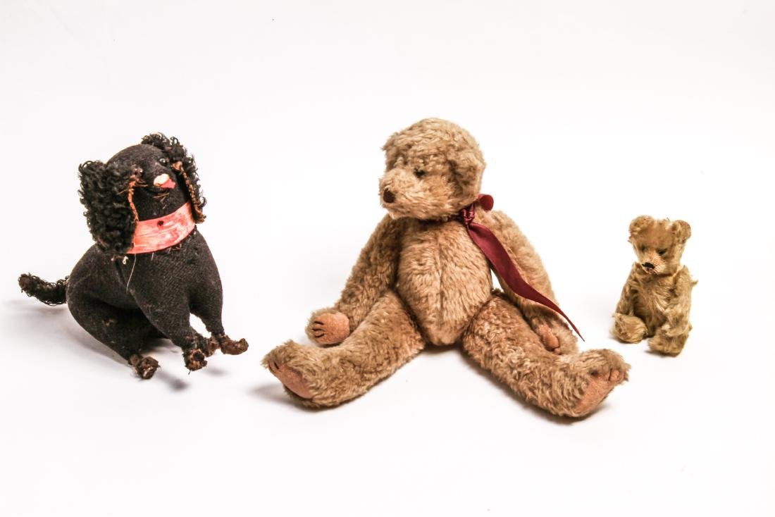 Steiff Manner Teddy Bears Dog Stuffed Animal Toys