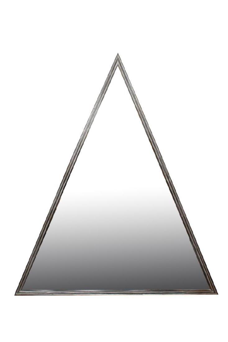 Pyramidal-Form Large Dressing Mirror