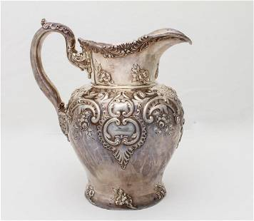 Howard & Co. Sterling Silver Water Pitcher