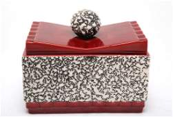 Art Deco Sevres Ceramic Box by Paul Milet, 1930s