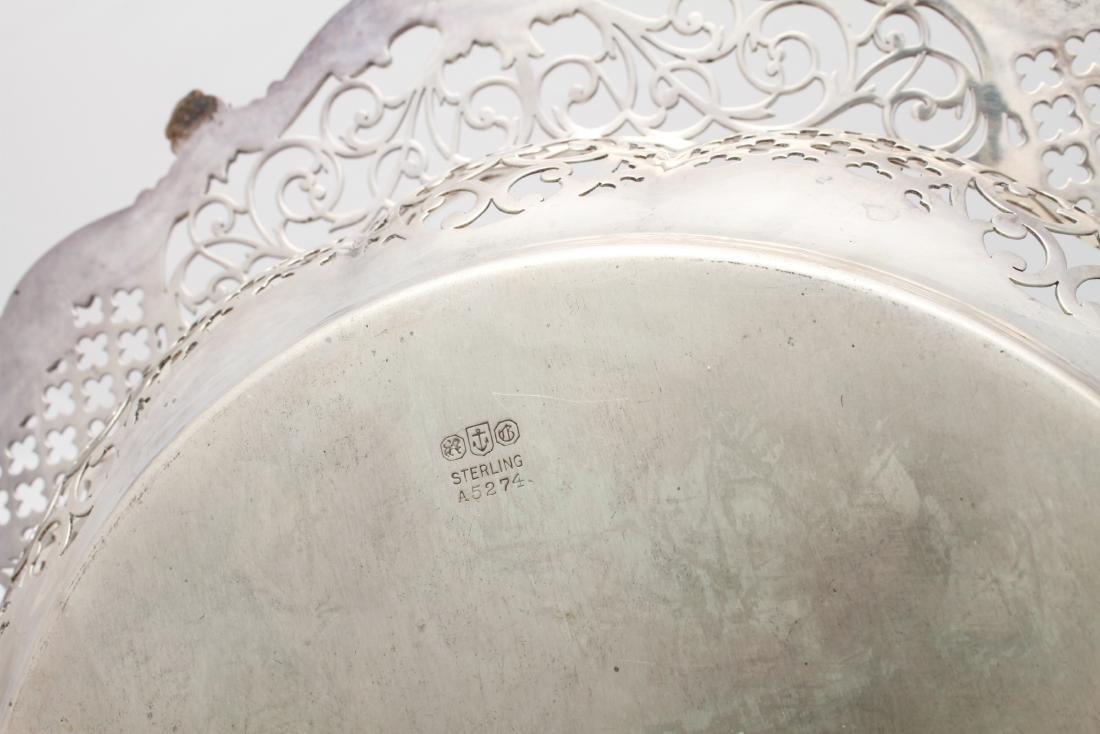 Gorham Sterling Silver Pierced Centerpiece Bowl - 2