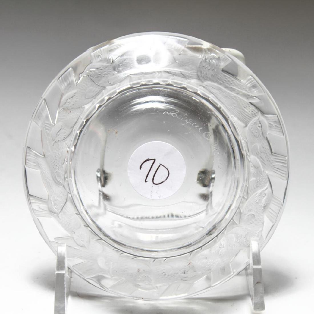 """French Lalique Crystal """"Irene"""" Dish / Bowl - 3"""
