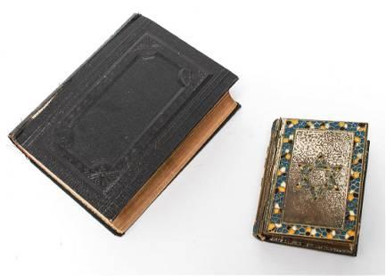 Hebrew Judaica Prayer Books Vintage Antique 2