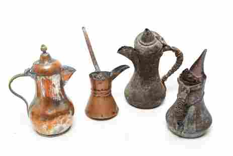 Middle Eastern or Turkish Coffee Pots Dallahs 4