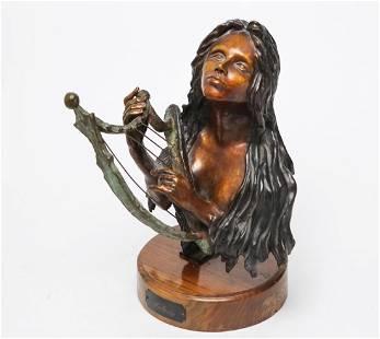 Evelyn Morgenbesser American 19202017 Bronze