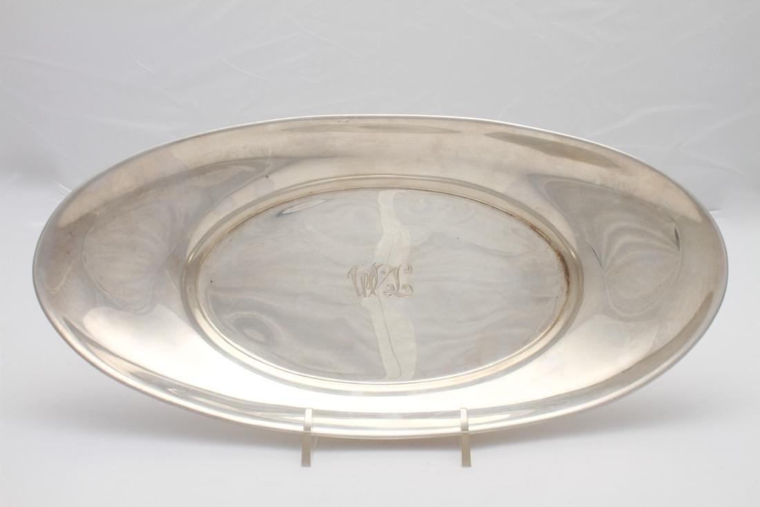 Gorham Sterling Silver Oblong Bread Tray / Bowl - 2