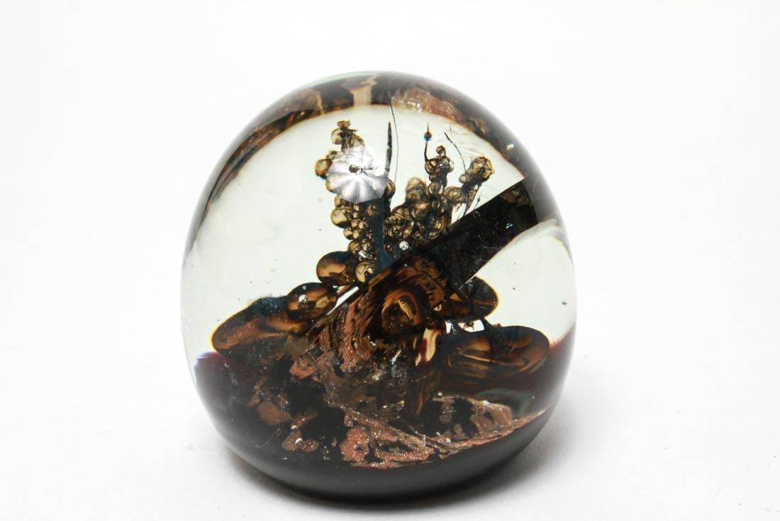 Three Art Glass Paperweights - 6