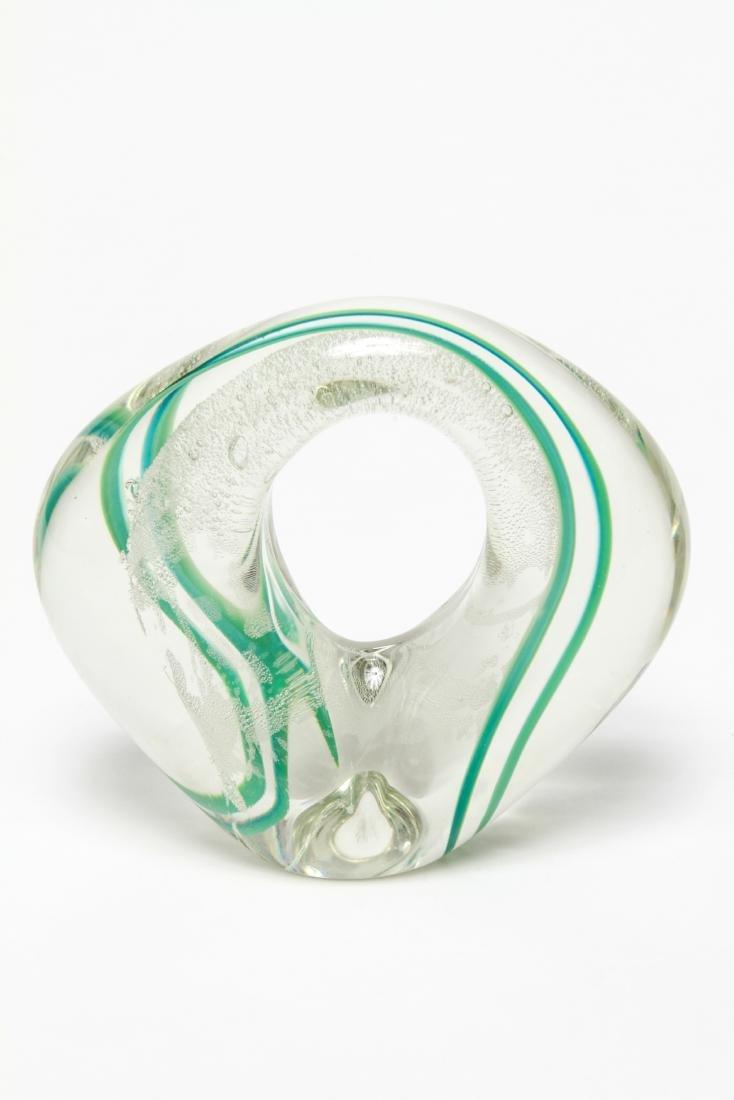 Three Neil Duman Art Glass Paperweights, Signed - 4