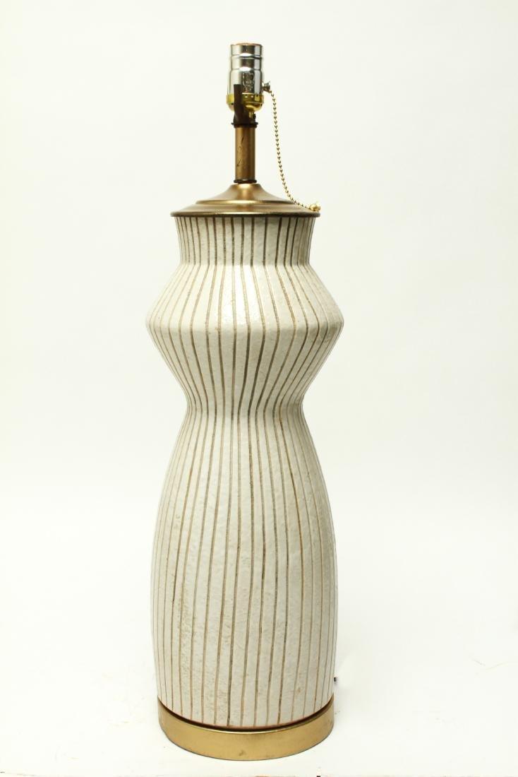 Mid Century Martz Manner Ceramic Table Lamp