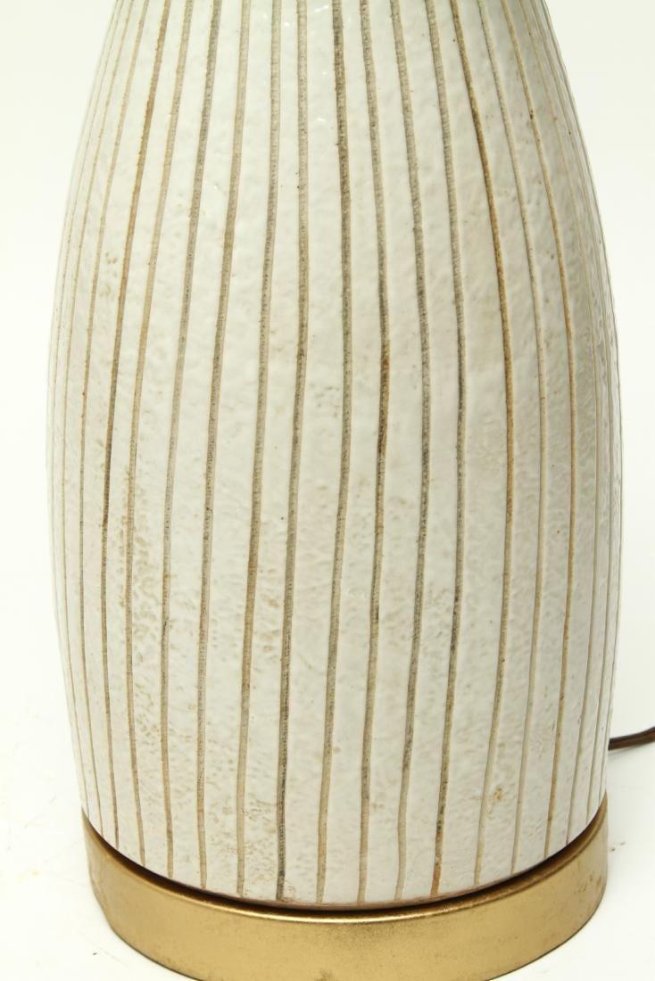 Mid Century Martz Manner Ceramic Table Lamp - 2
