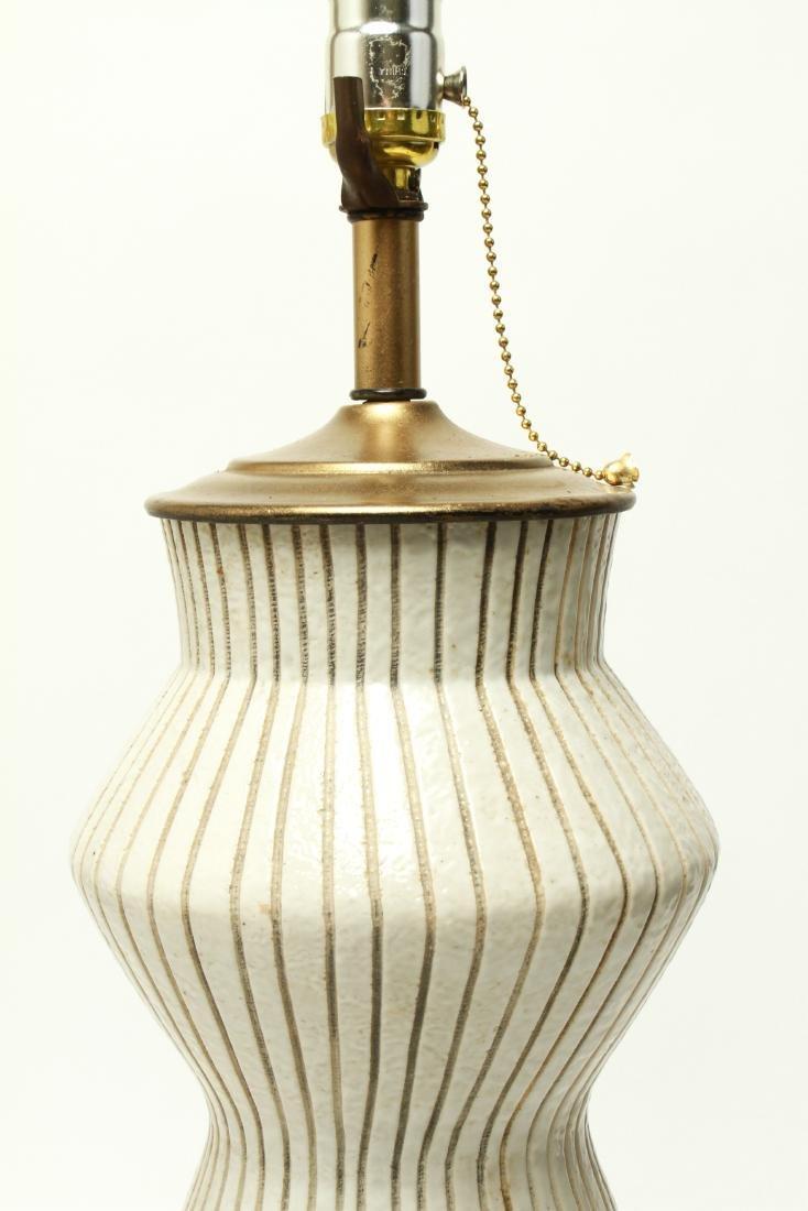 Mid Century Martz Manner Ceramic Table Lamp - 3