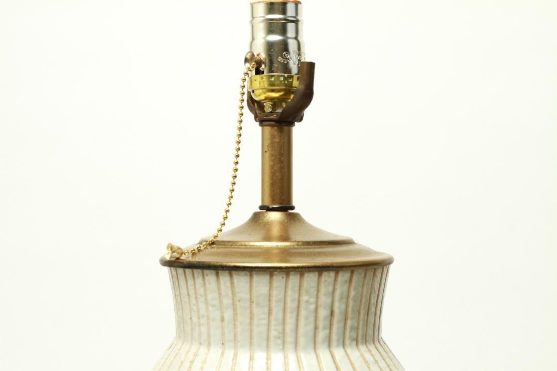 Mid Century Martz Manner Ceramic Table Lamp - 4