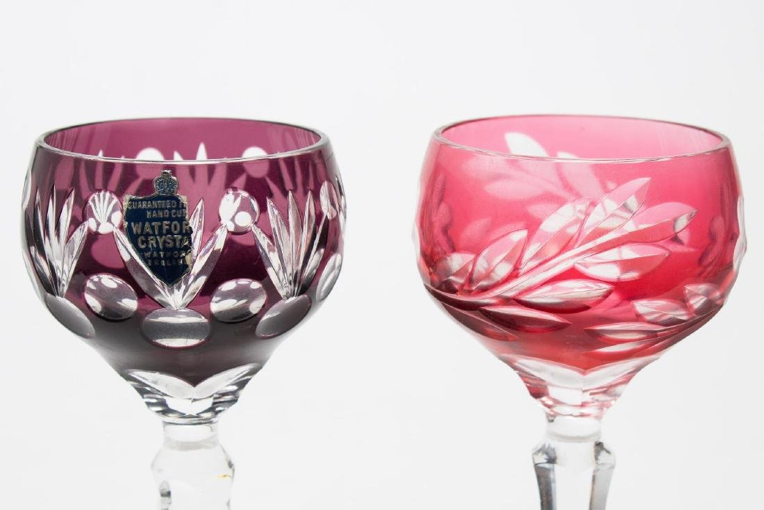 Waterford Crystal Wine Goblets, 2 - 3