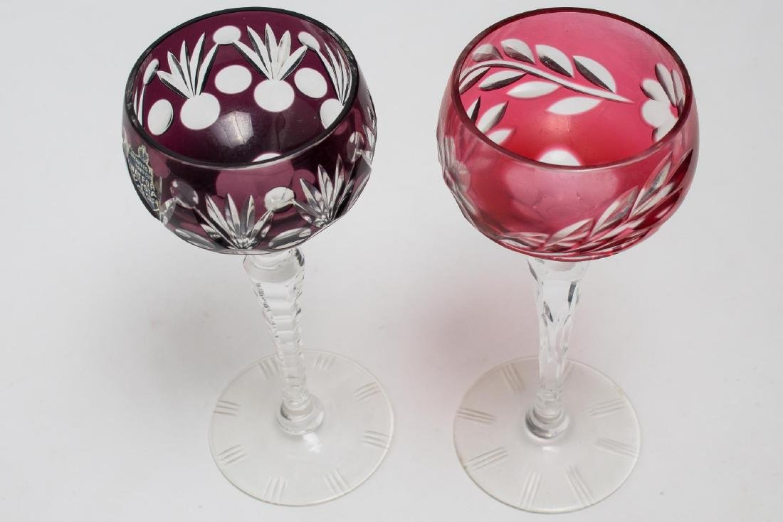 Waterford Crystal Wine Goblets, 2 - 4
