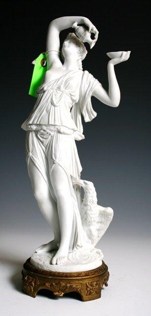 2004: Sevres Bisque Porcelain Figure after Clodion 1860