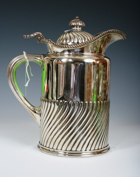 2014: 19th C Tiffany & Co. Silver Plated Water Jug