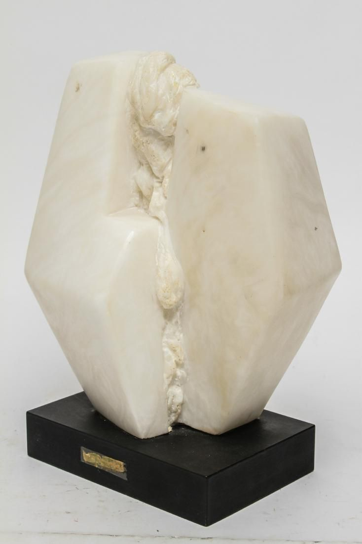 Betty Gilman Abstract Marble Eruption Sculpture