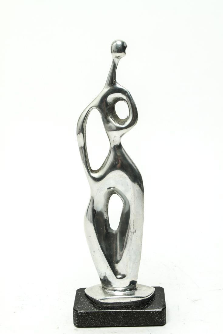 Modern Abstract Aluminum Figural Sculpture