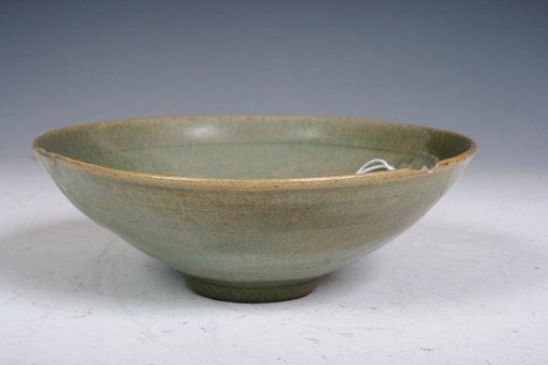 4: 12th C Korean Molded Celadon Bowl