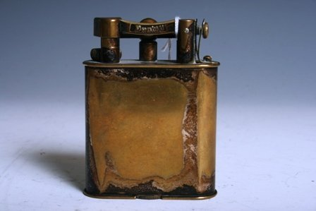 9: Antique Dunhill Lighter