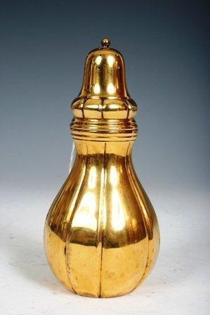 10: Tiffany Denmark Gilt Silver Salt Shaker c1900