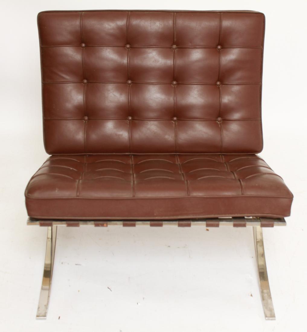 Modern Mies Van Der Rohe for Knoll Barcelona Chair
