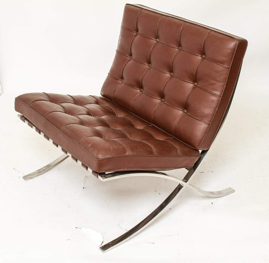 Modern Mies Van Der Rohe for Knoll Barcelona Chair - 2