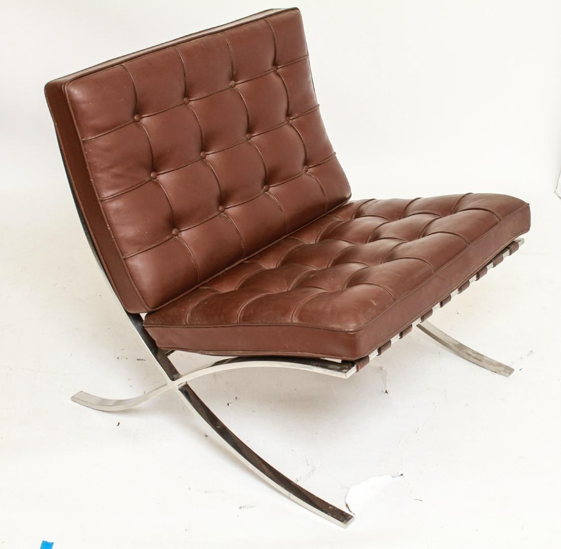 Modern Mies Van Der Rohe for Knoll Barcelona Chair - 3