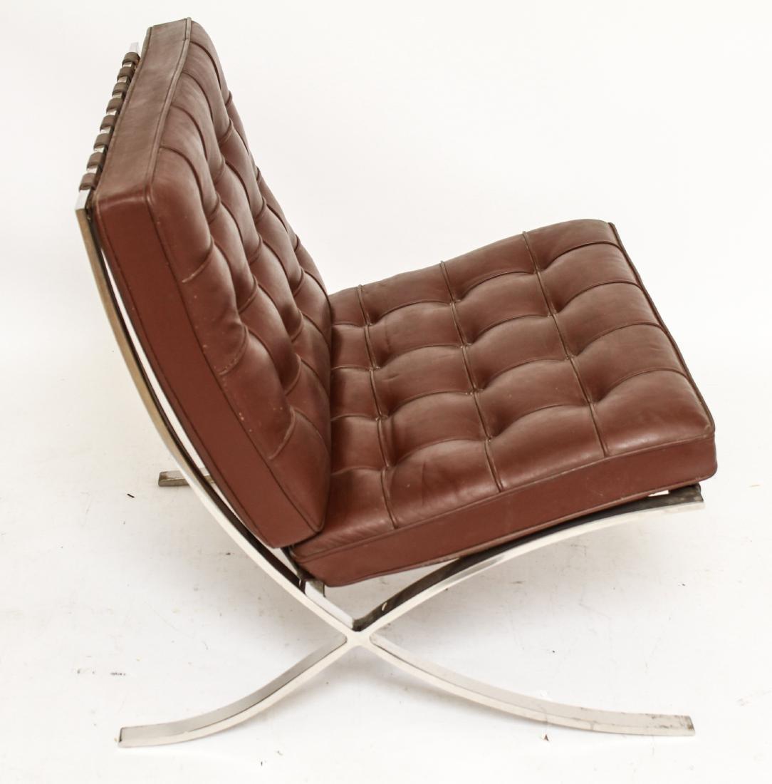Modern Mies Van Der Rohe for Knoll Barcelona Chair - 4