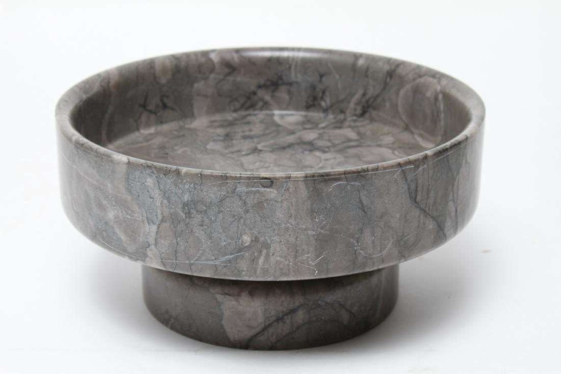 Mid-Century Angelo Mangiarotti Knoll Marble Bowl