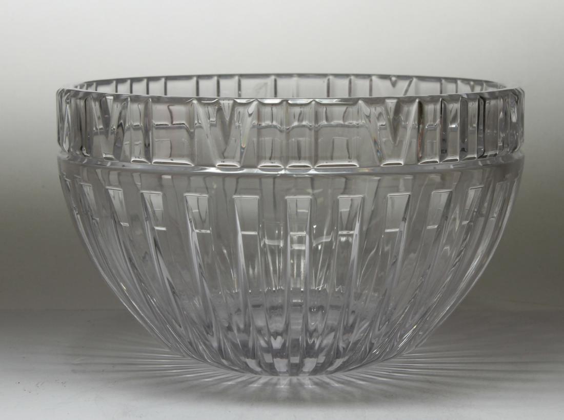 Tiffany & Co. Crystal Atlas Roman Numeral Bowl - 2