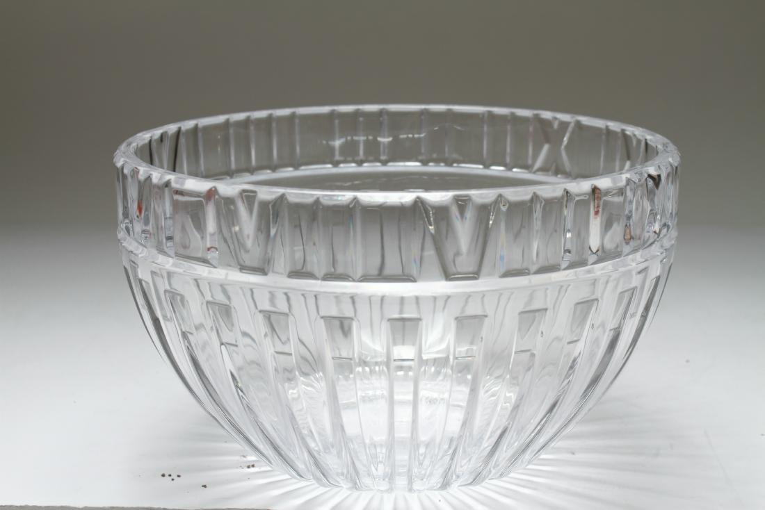 Tiffany & Co. Crystal Atlas Roman Numeral Bowl - 3