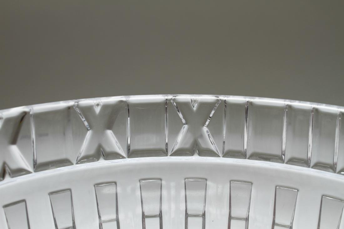 Tiffany & Co. Crystal Atlas Roman Numeral Bowl - 4