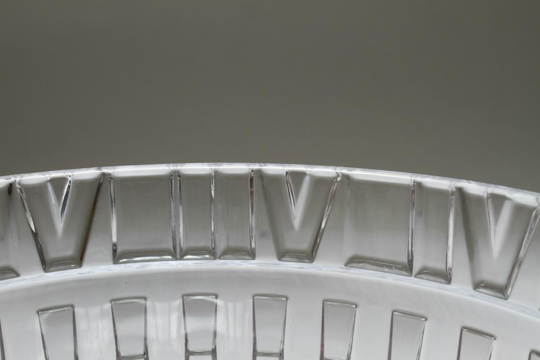 Tiffany & Co. Crystal Atlas Roman Numeral Bowl - 5