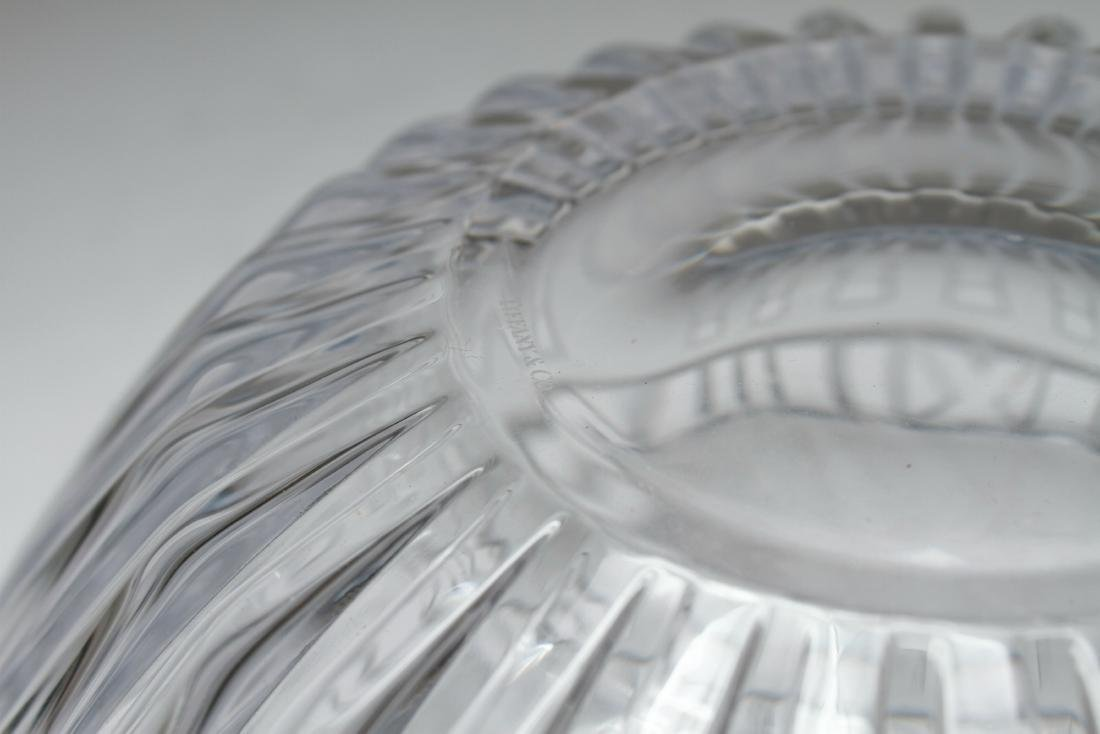 Tiffany & Co. Crystal Atlas Roman Numeral Bowl - 7