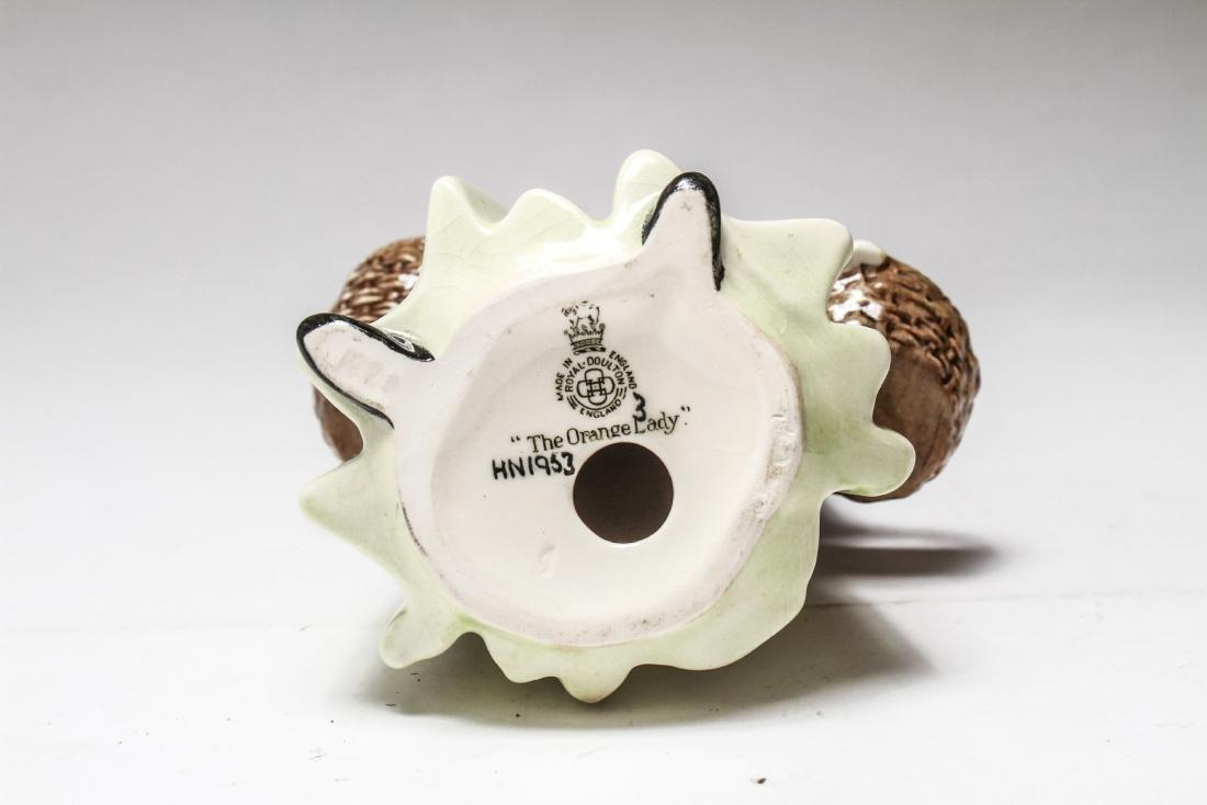 Royal Doulton Porcelain Figurines of Women, 6 Pcs - 3