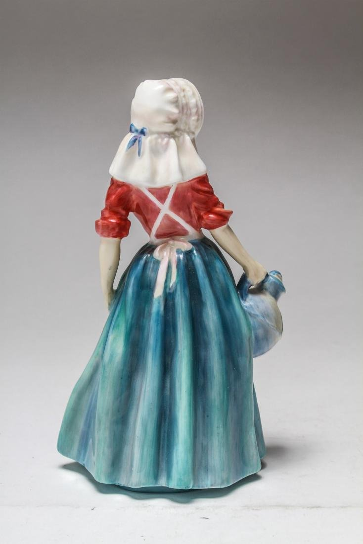 Royal Doulton Porcelain Figurines of Women, 6 Pcs - 5
