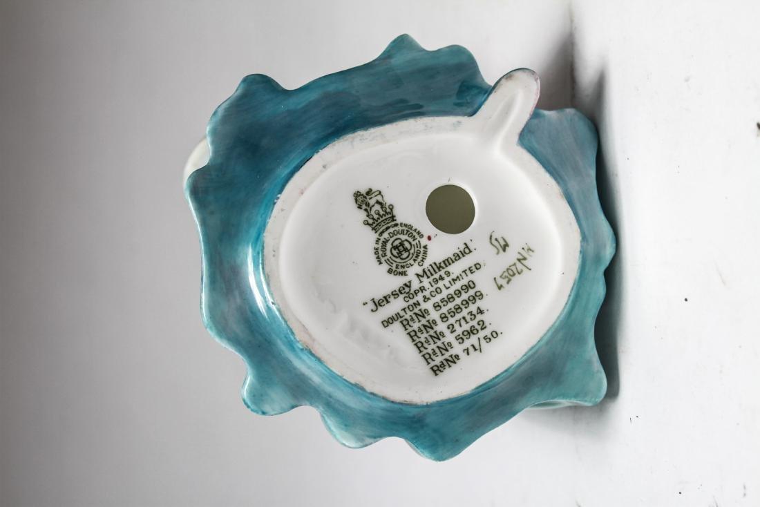 Royal Doulton Porcelain Figurines of Women, 6 Pcs - 8