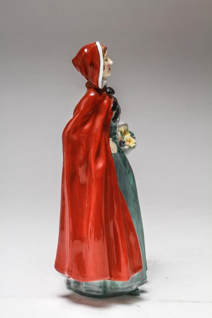Royal Doulton Porcelain Figurines of Women, 6 Pcs - 9