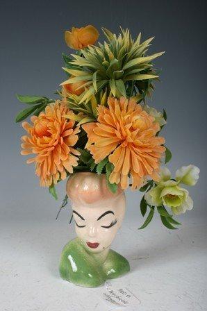 2003: Regency Ceramic Betty Grable and Flowers Vase