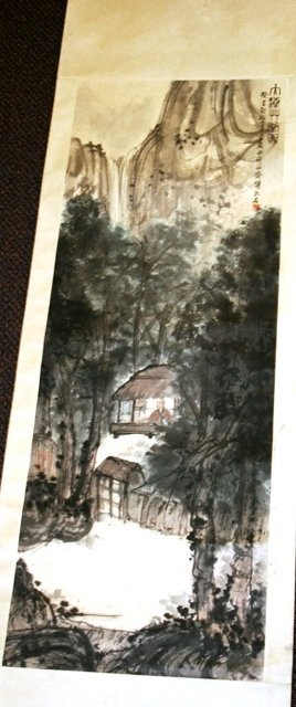 2014: 20th C. Chinese Large Painting of Landscape