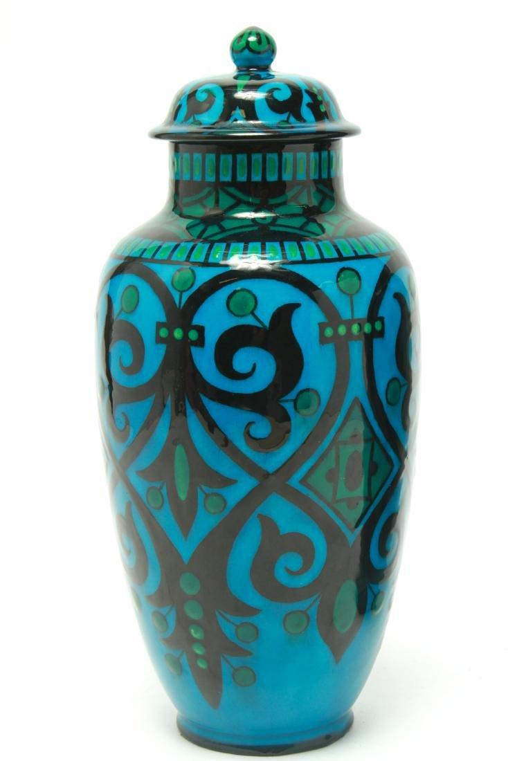 Paul Milet for Sevres Art Deco Porcelain Urns Pr - 2