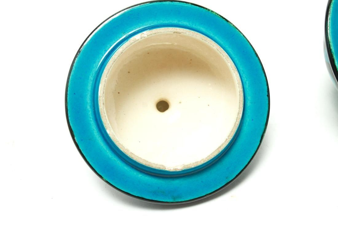 Paul Milet for Sevres Art Deco Porcelain Urns Pr - 7