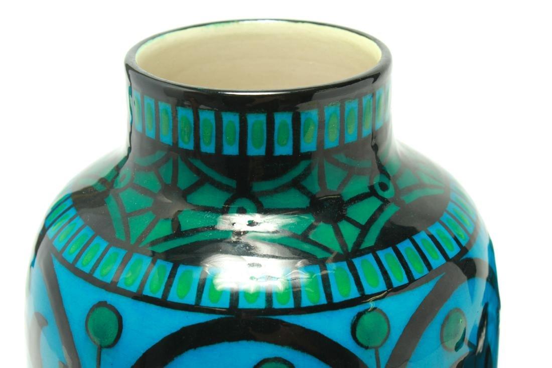 Paul Milet for Sevres Art Deco Porcelain Urns Pr - 8