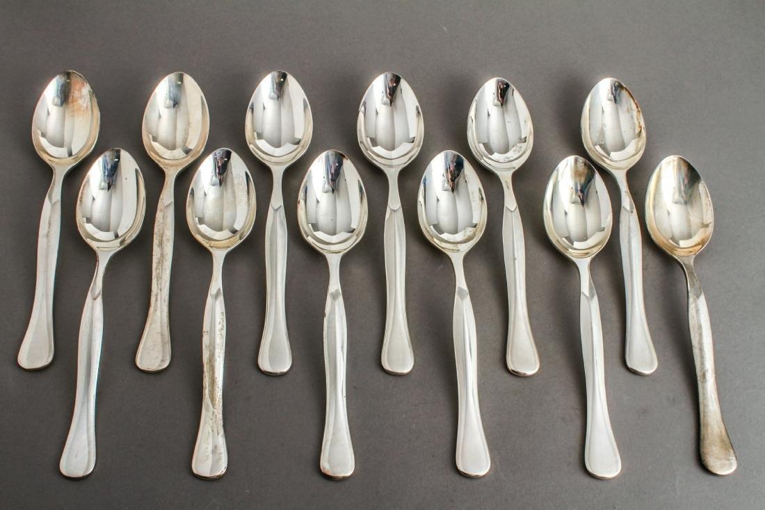 Rare Bulgari Eccentrica Silver Tablespoons Set 12